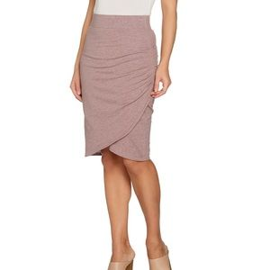 LOGO by Lori Goldstein French Terry Tulip Skirt
